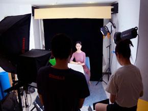 美妆行业代运营拍摄现场